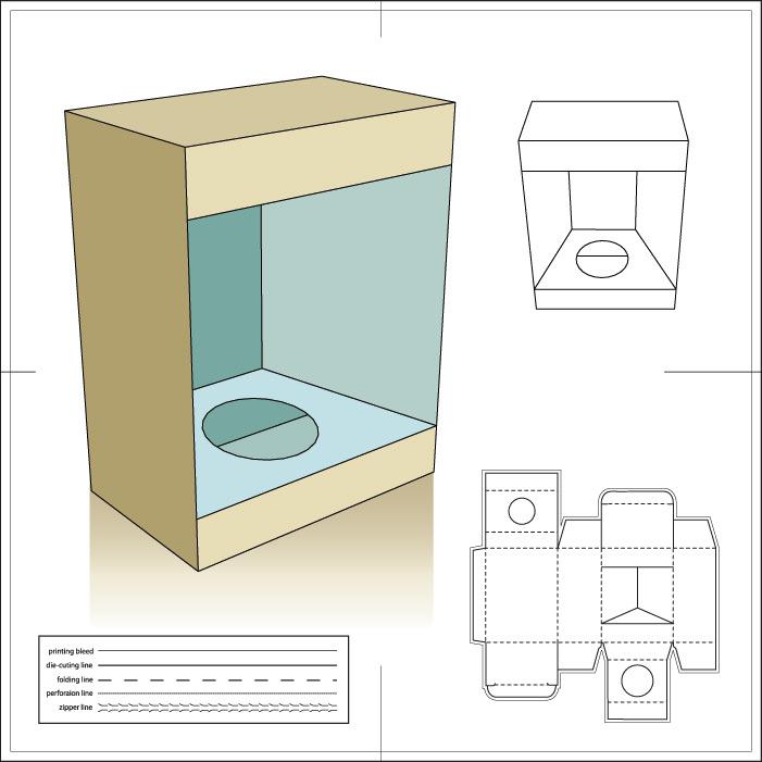 Коробка для бутылки своими руками из картона схема 72